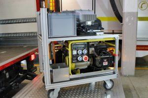 Strom- und Beleuchtungs-Container