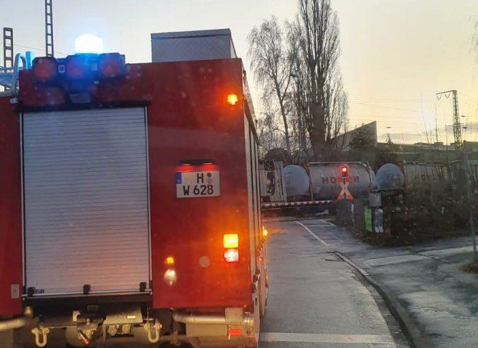 Bahnstrecke Wunstorf/Poggenhagen: Einsatz im Gleis