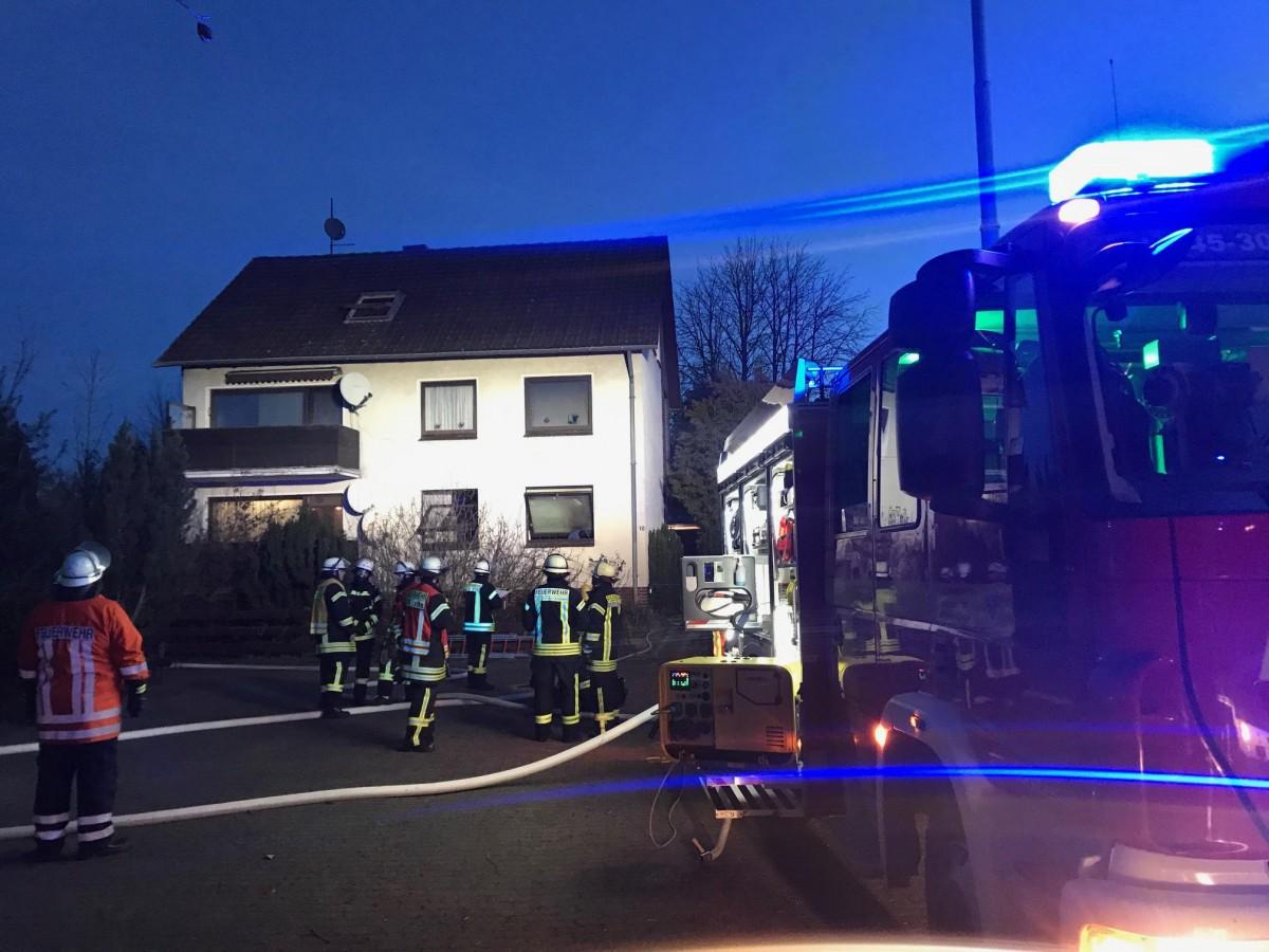 Wohnungsbrand: Fasanenweg Blumenau