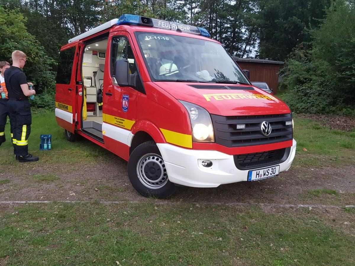 Wunstorf: Kellerbrand in Mehrfamilienhaus