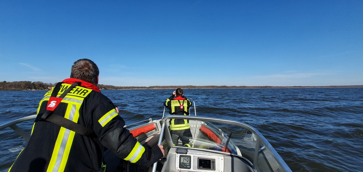 Steinhuder Meer Nordseite: Kiter ruft um Hilfe
