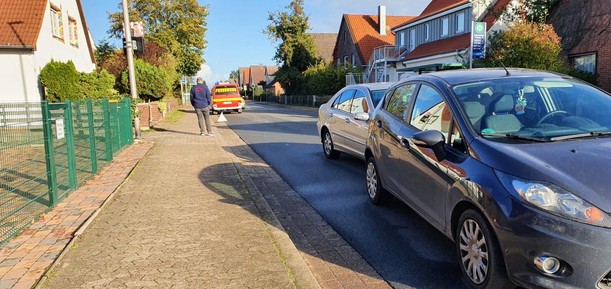 Bergstraße: Auffahrunfall PKW vs PKW